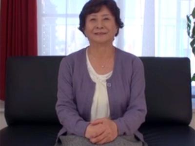 【高齢熟女動画】七十路のお婆ちゃんが興味本位で娘とAV出演…閉経マンコに強烈ファック!