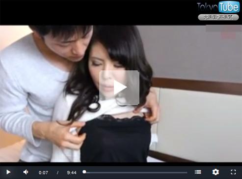 【ナンパ熟女動画】アラフォーには見えない素人美乳奥様を捕獲⇒ビジネスホテルでハメ撮りSEX!