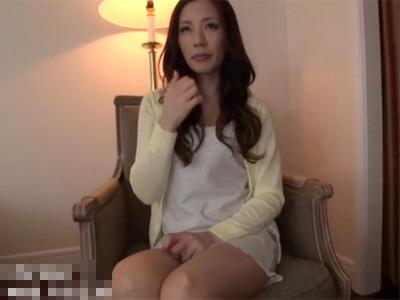 【四十路熟女動画】素人モデル級にスタイル良い専業主婦がAV応募⇒乱れ狂う本気セックス!