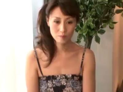【四十路塾動画】主人とは2年以上ご無沙汰なセクシー専業主婦がAV撮影⇒久々の快感に我を忘れて本気SEX!