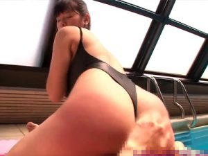 【四十路熟女動画】「あ~気持ちイイ!」巨尻のムッチリ美熟女が激しいスパンキングで何度も絶頂!