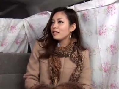 【ナンパ熟女動画】40代素人ハーフ顔美人妻をアンケートと騙して捕獲⇒おまんこを悪戯してラブホに誘い中出しSEX!