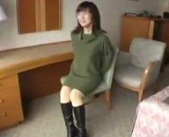 【個人撮影熟女動画】ナンパした四十路素人の欲求不満な細身奥様とラブホで中出しハメ撮りSEX!