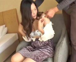 【四十路熟女動画】色気ハンパない素人巨乳美人妻がビジネスホテルでハメ撮り中出しSEX!
