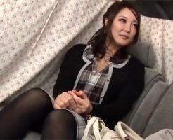 【ナンパ熟女動画】マジ最高!巨乳でアニメ声の30代素人美人妻を捕獲⇒本気中出しセックス!