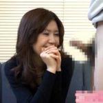 【フェラチオ熟女動画】「こんな元気なの初めて見た!」30代素人奥様がセンズリ鑑賞で我慢出来ずオナサポ!