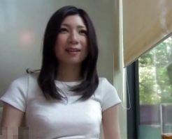 【若妻動画】旦那とは別居中でエッチに飢えた27歳の巨乳美人奥さんがAV撮影⇒高層ホテルでハメ撮り敢行!