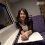 【不倫若妻動画】「旦那とはしていません…」セックスレスの二十路巨乳美人妻が深夜特急で浮気エッチ!