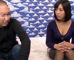 【爆乳熟女動画】ムッチリ体型の三十路人妻が童貞君の筆おろし企画で中出し事故w