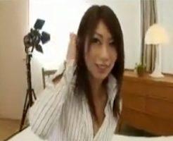 【ナンパ若妻動画】エッチしてなくて欲求不満なの美人巨乳妻を撮影スタジオでハメ倒す!