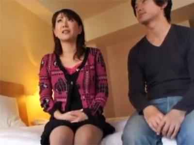 【ナンパ熟女動画】50代素人のムチムチ垂れ乳人妻を褒め言葉で気分を高揚させてAV撮影に持ち込む!