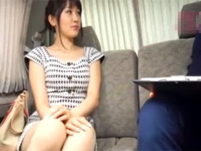 【ナンパ若妻動画】清楚で上品そうな奥様をアンケートと称してゲット…ホテルに連れ込み中出しハメ撮り!